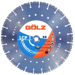 Gölz LCP1, Ø300x22,2 mm, Diamantklinge