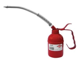 Oliekande, 0,40 l, stål/ flex-tud