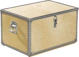 Værktøjskasse m/låg, 785 mm