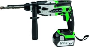 Hitachi DH18DSL, Borehammer, m/LED-lys