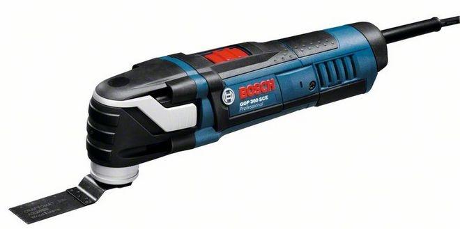 Bosch GOP 300 SCE (sæt), Multicutter