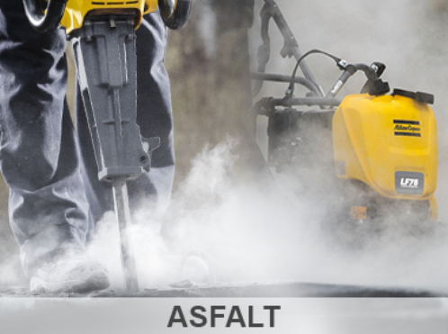 Tilbud på produkter inden for asfalt