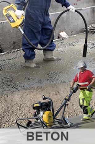 Tilbud på produkter inden for beton