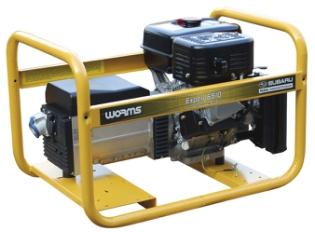 Subaru 6510MTX, Generator