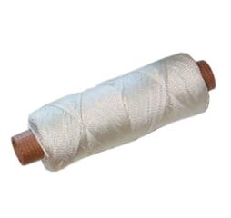 Mursnor, Krydsflettet, 1,5 mm, Hvid