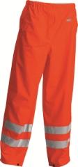 Regnbukser, Orange, Str. XL