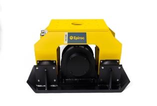 Epiroc HC850 Pladevibrator (360° rotation), Maskinbåren