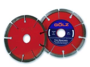 Gölz DF70, Ø125x22,2 mm, Diamantfræseskive