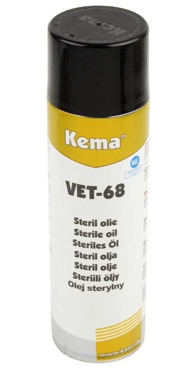 Kema VET-68, Sterilolie, Spray, 500 ml