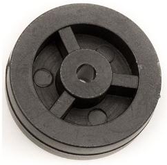 Hjul, t/gulvmundstykke i plast