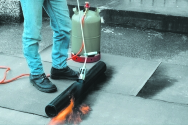Tagbrændersæt, Ø60/63 mm