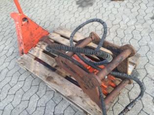Hydraulikhammer 200 kg, Brugt hydraulikhammer