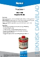 Teknisk datablad, Kema Montagepasta RG-1100, Dåse, 500 ml