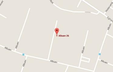 Google Maps kort over Erenfred Pedersen A/S i Kolding