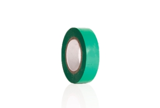 Isolerbånd, Grøn, 15 mm