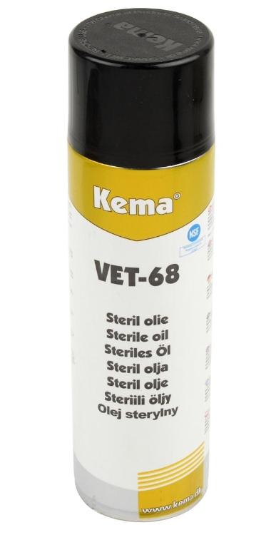 Kema VET-68, Sterilolie, Spray, 500 ml
