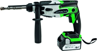 Hitachi DH18DSL, Borehammer, m/LED-lys