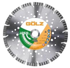 Gölz LGB 30, Ø230x22,2 mm, Diamantskive
