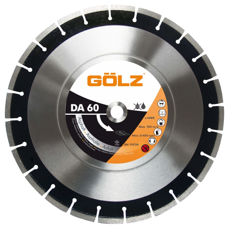 Gölz DA 60, Ø350x20,0 mm, Diamantskive