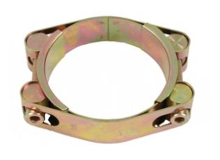 Spændebånd, Ø45-55 mm, 2-delt