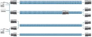Tilslutningsmuffe, Ø38/32 mm