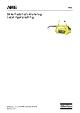 Sikkerhedsvejledning, Atlas Copco AME1600