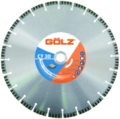 Gölz CT 30, Ø350x25,4 mm, Diamantskive