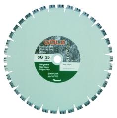 Gölz SG 35, Ø400x25,4 mm, Diamantskive