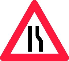 Advarselstavle A43.3, 70 cm