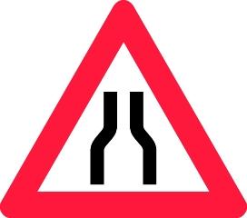 Advarselstavle A43.1, 70 cm