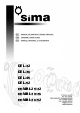 Brugervejledning, Sima DEL-52