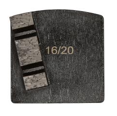 WSM Black, 12 mm, #16/20, Single