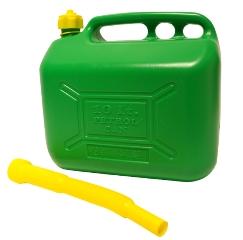 Benzindunk, Grøn, 10 L