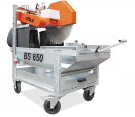 Gölz BS650, Stenskæremaskine