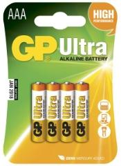 Ultra Alkaline, LR03/AAA, 4-pak