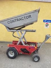 Contractor/Twinca GS800, Brugt motorbør m/højtip
