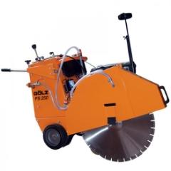Gölz FS250D, Fugeskæremaskine