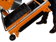 Gölz MS400, Stenskæremaskine
