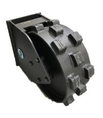 CP Kompaktorhjul, B: 160 mm, Ø450 mm